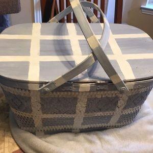 COPY - Vintage Painted Basket